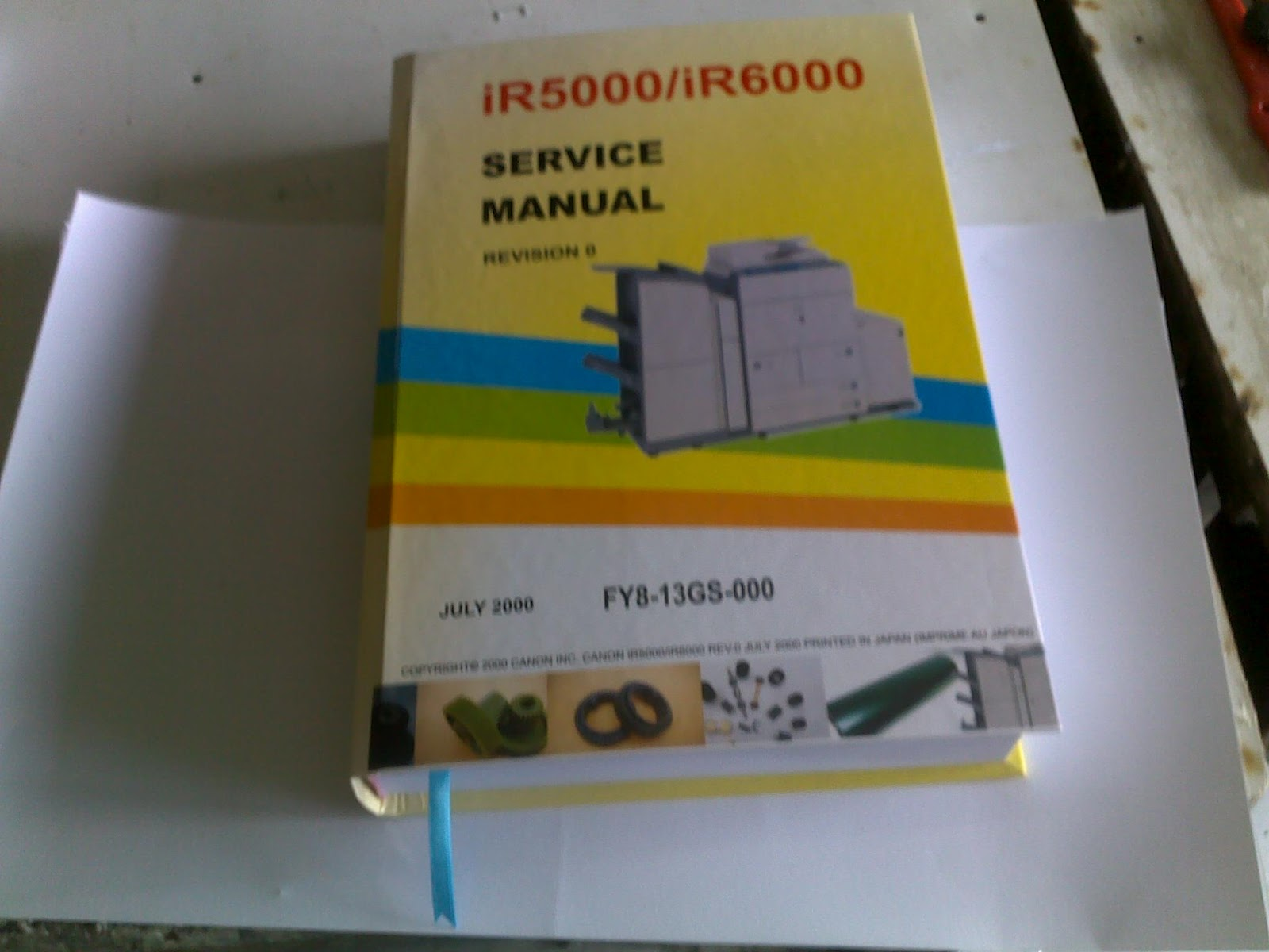 Canon Booklet Trimmer A1 Service Manual Auto Electrical Wiring Diagram Block Canonir5000 Ir5000 Ir6000 U0026 Repair