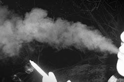 Envidio al humo, vuela libre y seguro.