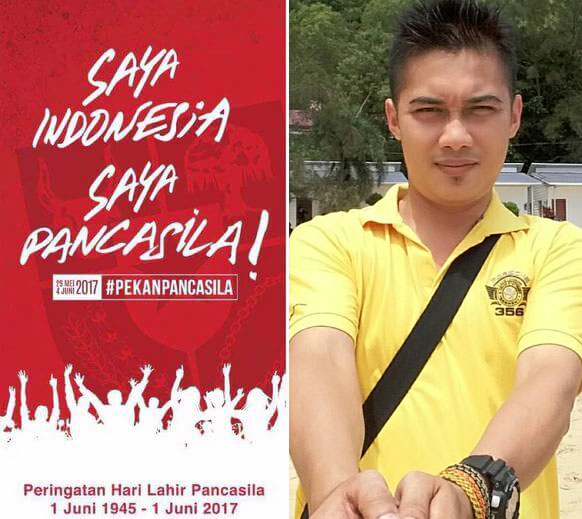 Kakanda Redi: SAYA INDONESIA SAYA PANCASILA