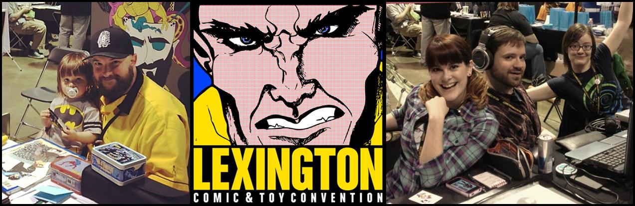 Beaucoup Pop: Episode 95 - Lexington Comic & Toy Con 2013 Live