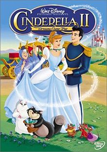 Artwork for hte DVD Cinderella II: Dreams Come True 2002 animatedfilmreviews.blogspot.com