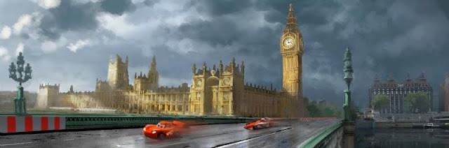 cars 2 Inglaterra