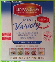 Linwoods mini superfood variety box