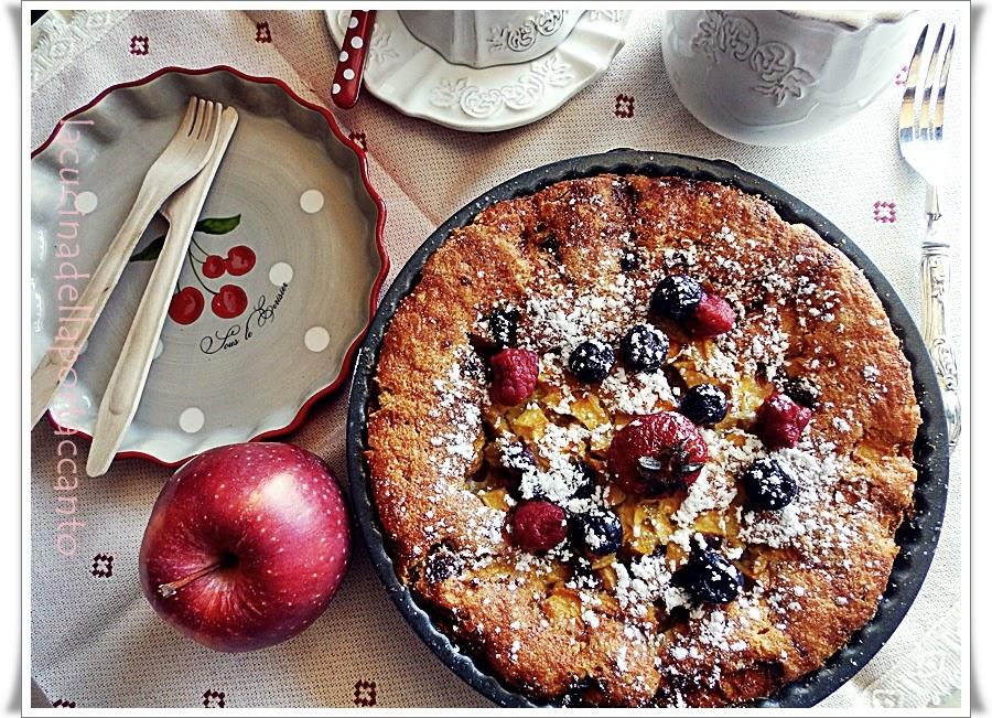 beeren joghurt kuchen ovvero torta di yogurt con frutta / beeren yoghurt kuchen cake or yogurt with fruit