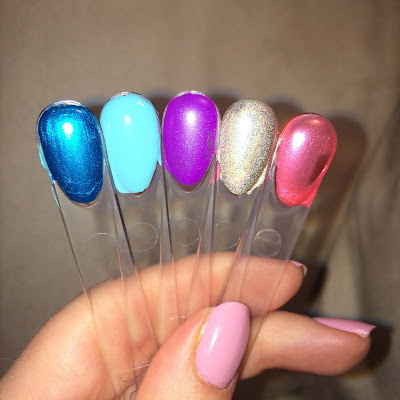 Julep July 2015 Swatches