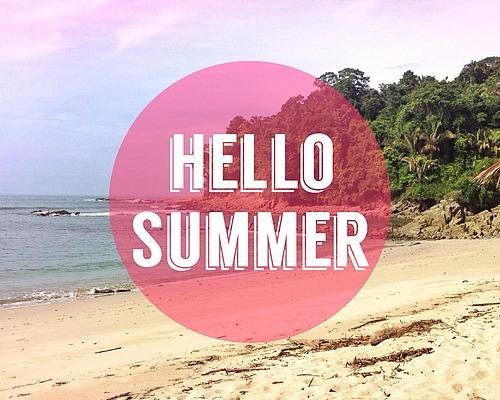 HELLO SUMMER - po maturze, plany na lato i ogłoszenia blogowe