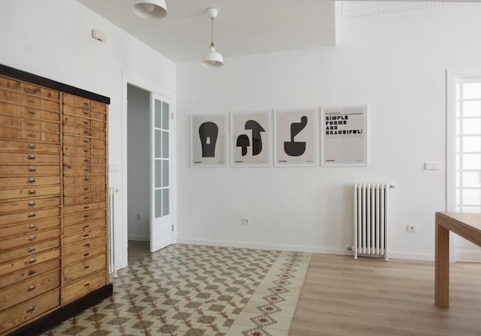 Una pizca de hogar reforma de un piso centenario for Reforma piso antiguo