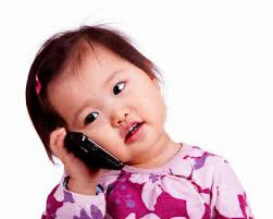 image of mobile phone harmful effect on baby
