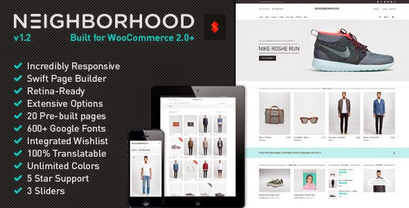 Neighborhood - Responsive Multi-Purpose Shop Theme V1.1 [WordPress]