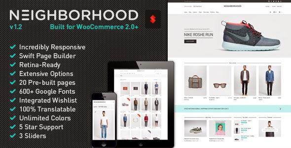 Neighborhood - Responsive Multi-Purpose Shop Theme V1.1 [WordPress]