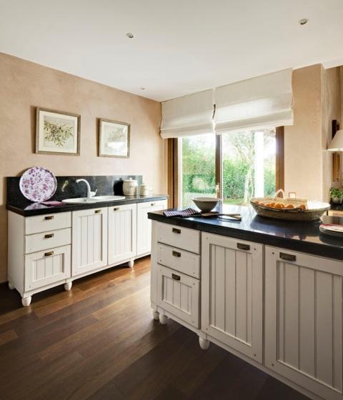 mueble de cocina rustico