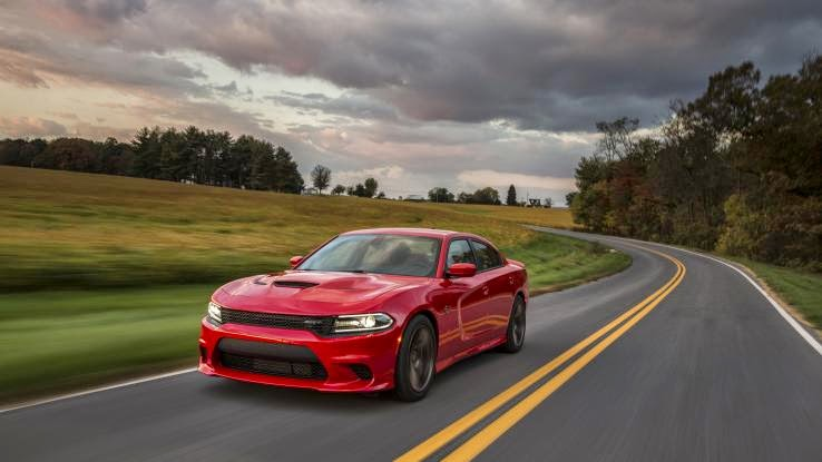 Big seller gets biggest engine  If Dodge had its way, there'd be a 2015 Charger in every garage. The fresh-out-of-college kid commuting to his first big job would drive the 31-mpg, $28,990 Charger SE. His 38-year-old brother, with a little more cash in his bank account, also a fan of American sedans, would drive the $48,375, 485-hp SRT 392. And the crazy uncle, who owned a '72 Charger R/T would be behind the wheel of the $64,985 Charger SRT Hellcat, the quickest, fastest, most-powerful sedan the world has ever seen.   The number of different grille options alone is enough to put this car in the something-for-everyone category. We discovered as much when we entered a hangar at Reagan National Airport in Virginia and saw about 30 examples of the redesigned 2015 model before Dodge execs gave us the details on the new car. Four, by the way, there are four different grille choices on the new Charger.