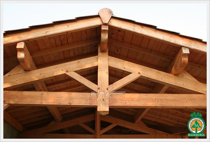 Productos maderables de cuale tipos de estructuras de - Estructuras de madera para techos ...