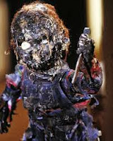 burnt Chucky from Child's Play (1988)