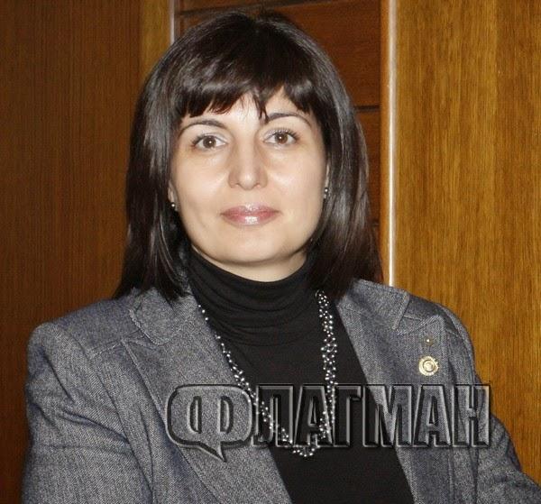 Нотариус Милена Илчева, зам.-председател на Нотариалната камара