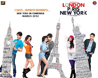 First Look of London Paris New York 2012 [Bollywood Hindi Movie Poster - Wallpaper]