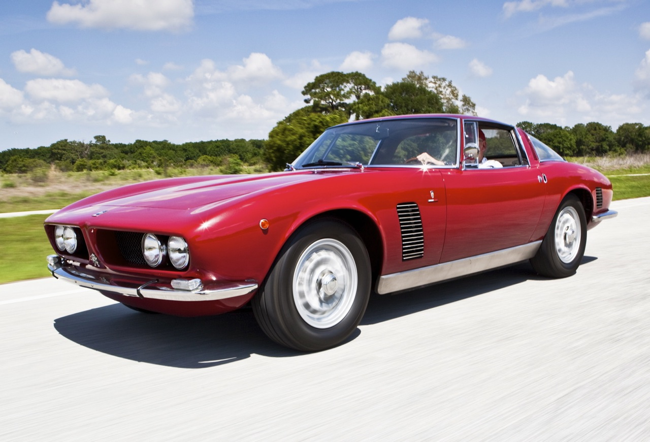 but one of a kind is the perfect description for this 1967 iso grifo chassis number gl630047 it is the only baldwin motion iso grifo ever made out of a