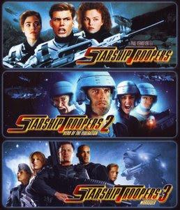 Filme Poster  Trilogia Tropas Estelares DVDRip RMVB Dublado