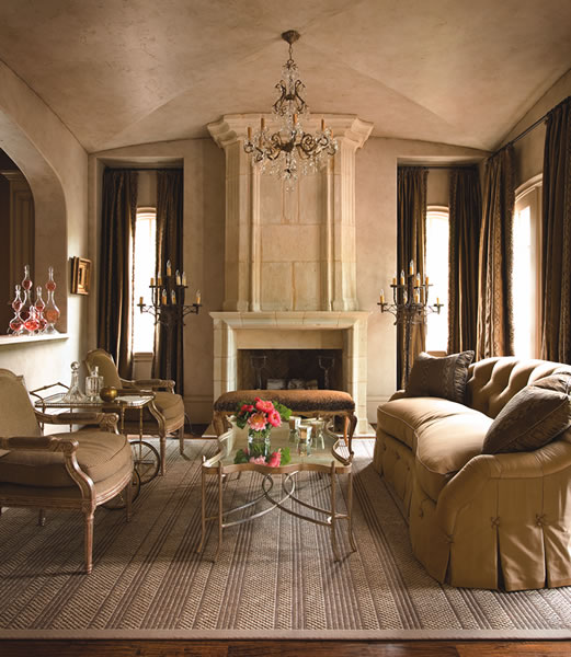 Chic Elegance Of Neutral Colors For The Living Room 10 Amazing Examples: Roses And Rust: Beautiful Brown