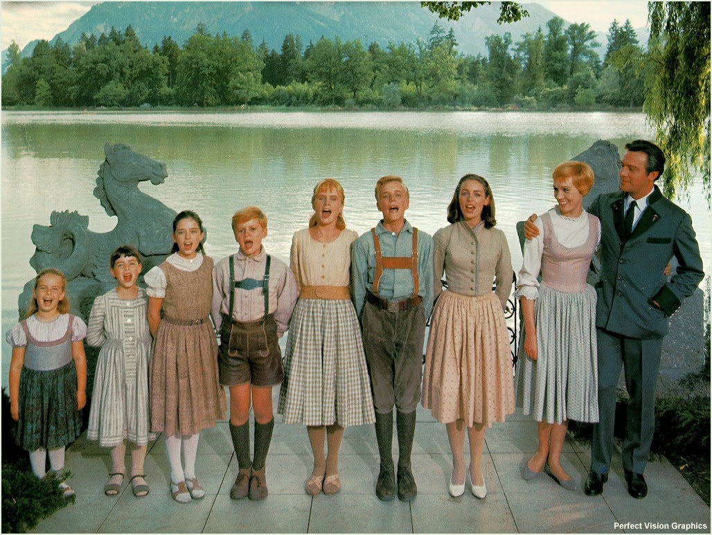 """The Sound of Music"" choir of film stars"