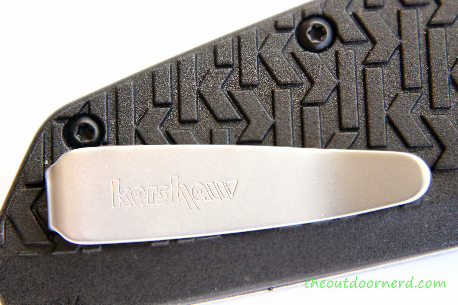 Kershaw Swerve EDC Pocket Knife:  View Of Clip 3