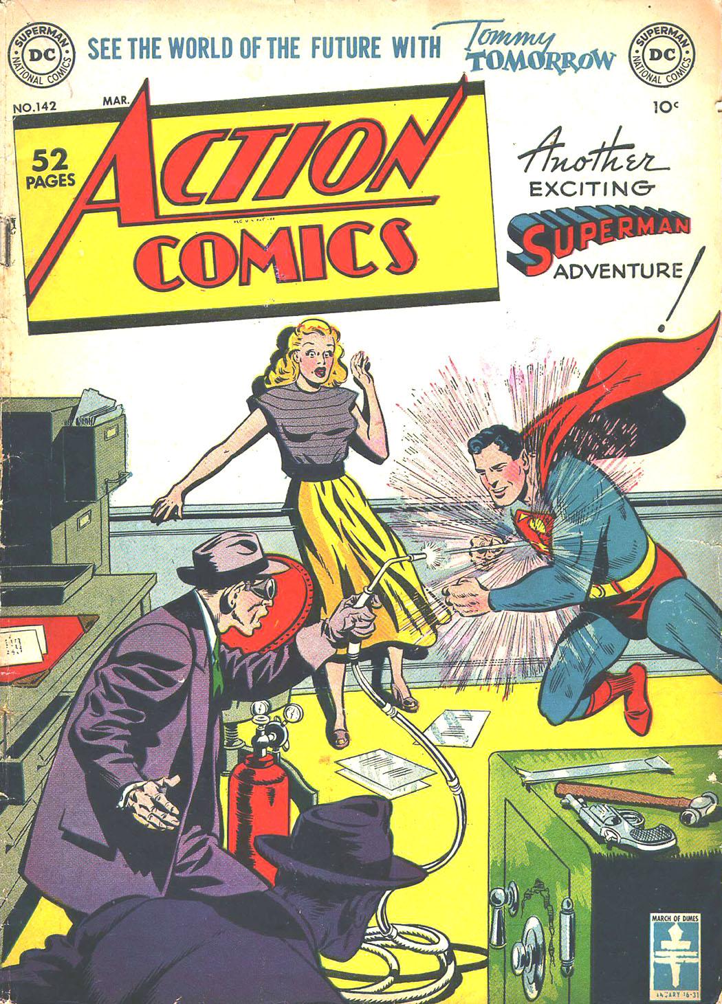 Action Comics (1938) 142 Page 1
