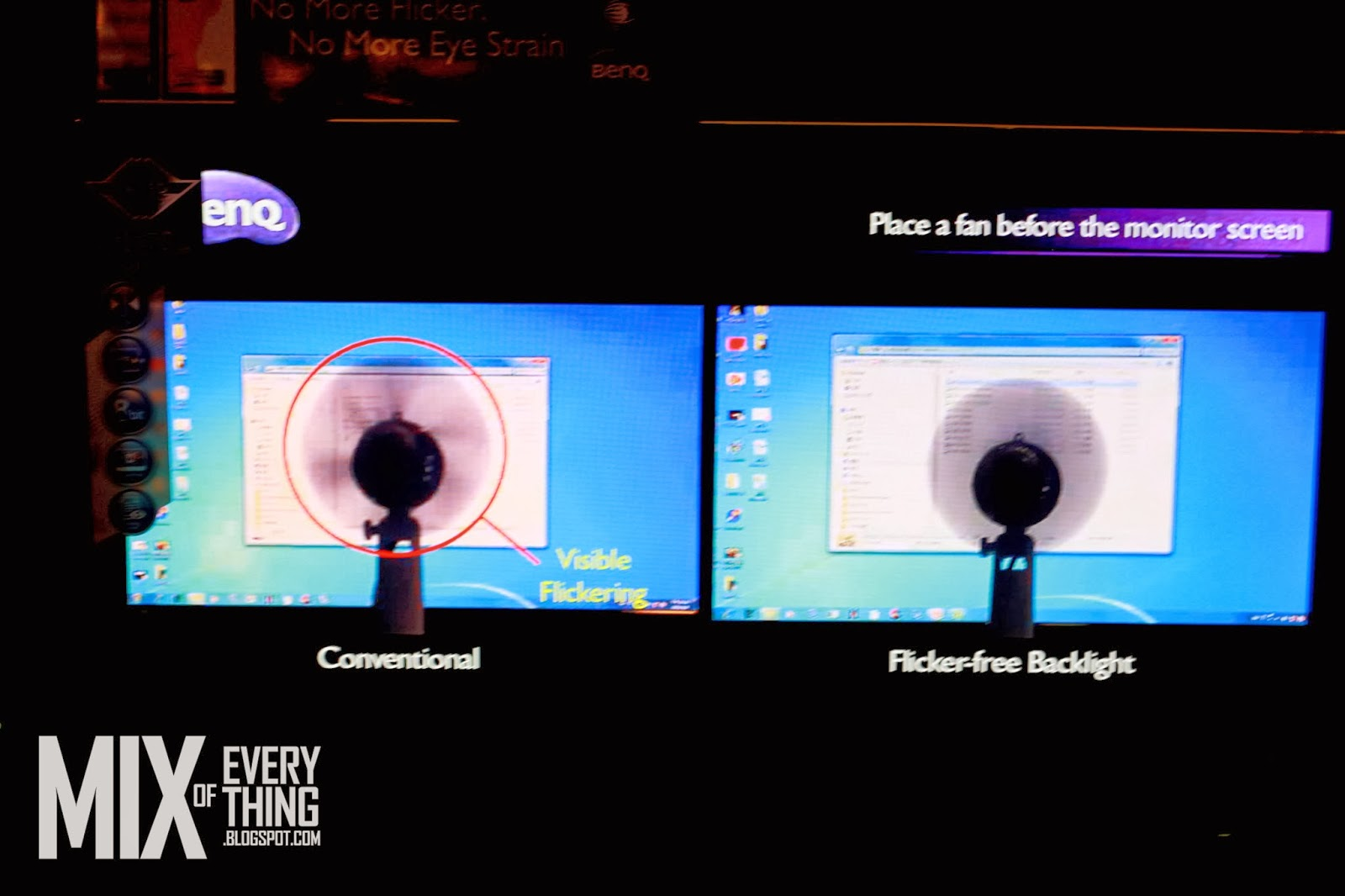 how to fix monitor flcker