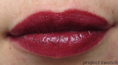 Revlon Black Cherry swatch