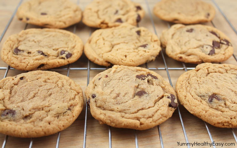recipe: chewy peanut butter chocolate chunk cookies [4]