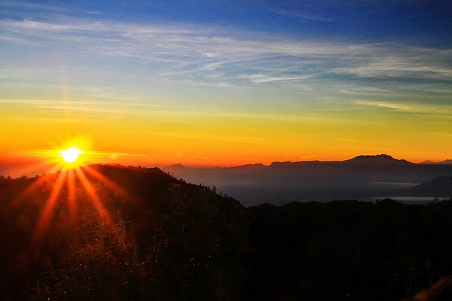 Bromo Sunrise - at View Point Pananjakan