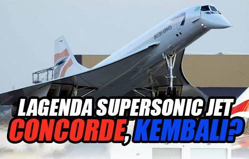 Lagenda Supersonic Jet Concorde, Kembali?