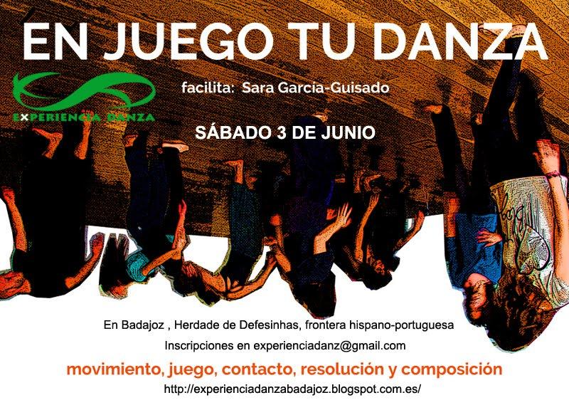 Taller EN JUEGO TU DANZA  con Sara G. Guisado