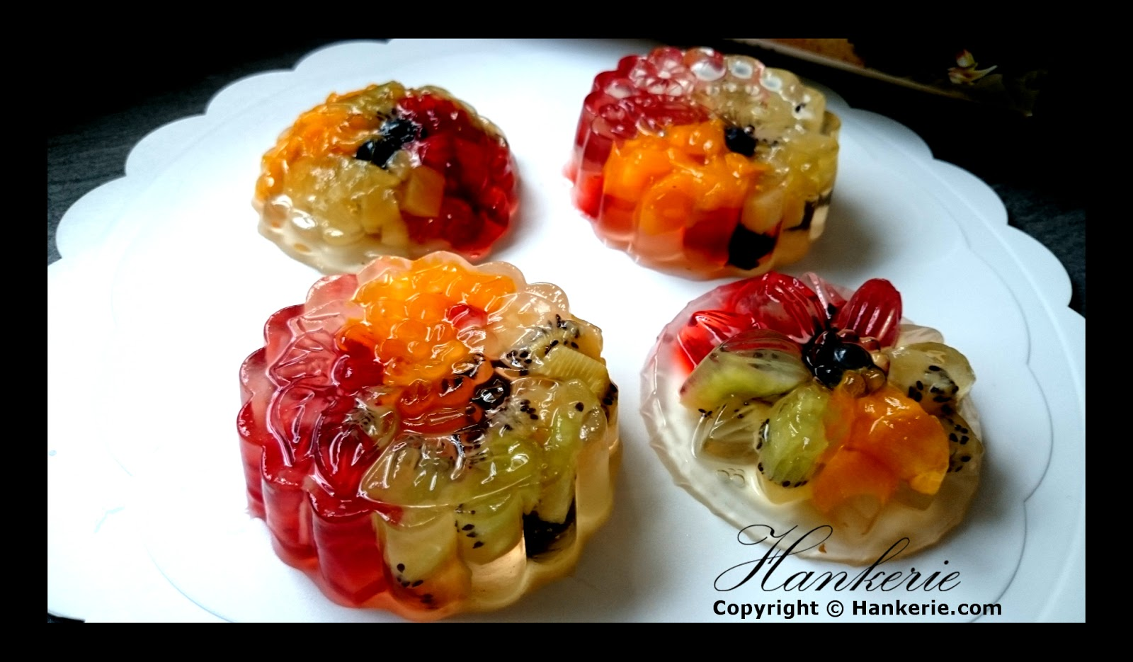 Jelly Fruit Cake Mat Gebu