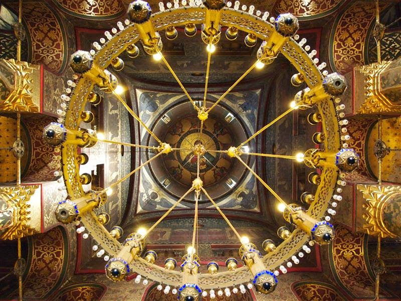 Cúpula de la catedral de Curtea de Arges