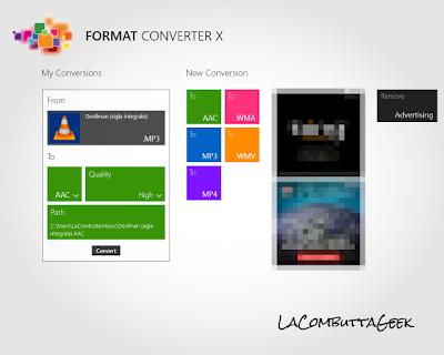 format converter: