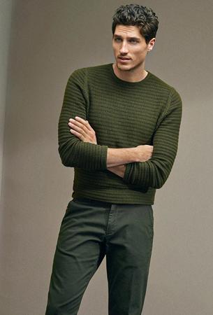 Massimo Dutti hombre jersey y pantalón