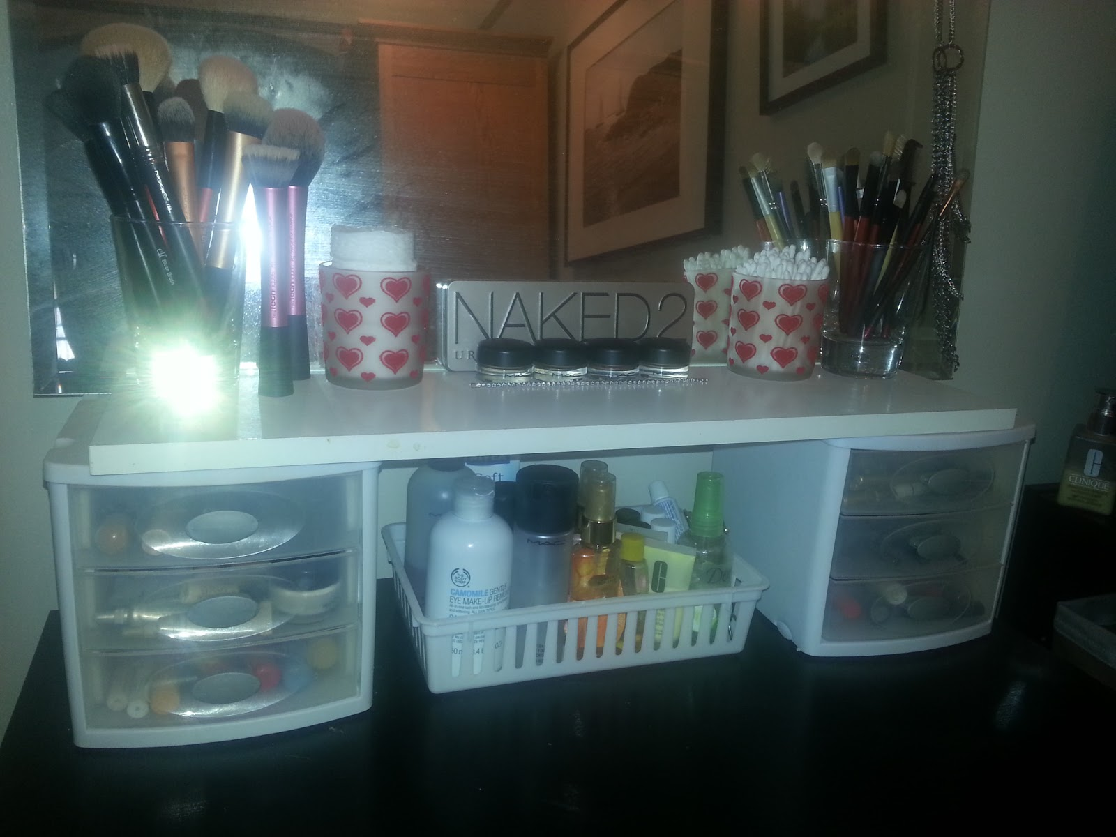Organizational Diva Make Up Storage Organization