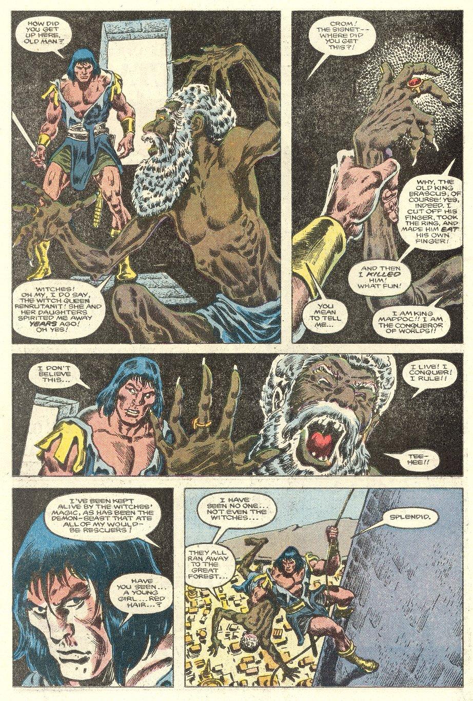 Conan the Barbarian (1970) Issue #181 #193 - English 19