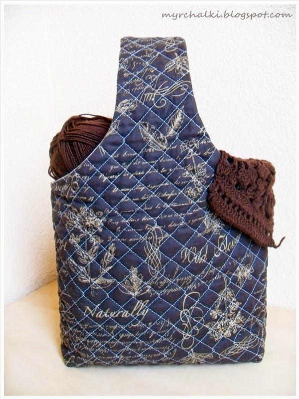 Сумка для вязания на руку 243