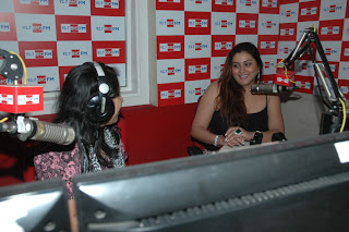 Namitha Birthday Celetion Pictures at Big FM