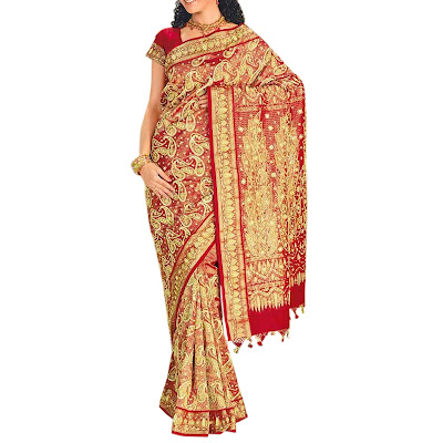 Handmade Designer Sarees of South India
