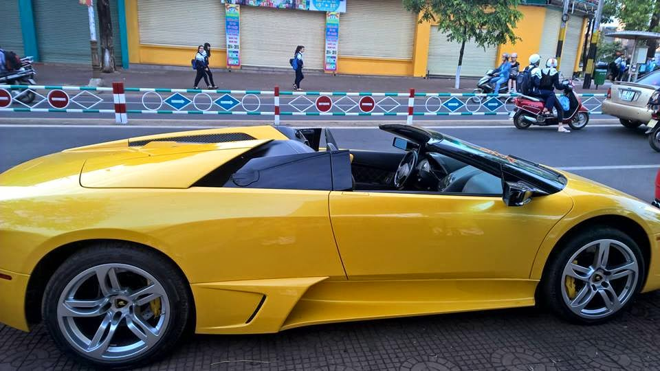 Siêu xe Lamborghini Murcielago LP640 Roadster tái xuất tại Gia Lai