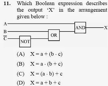 2012 December UGC NET in Electronic Science, Paper III, Questions 11
