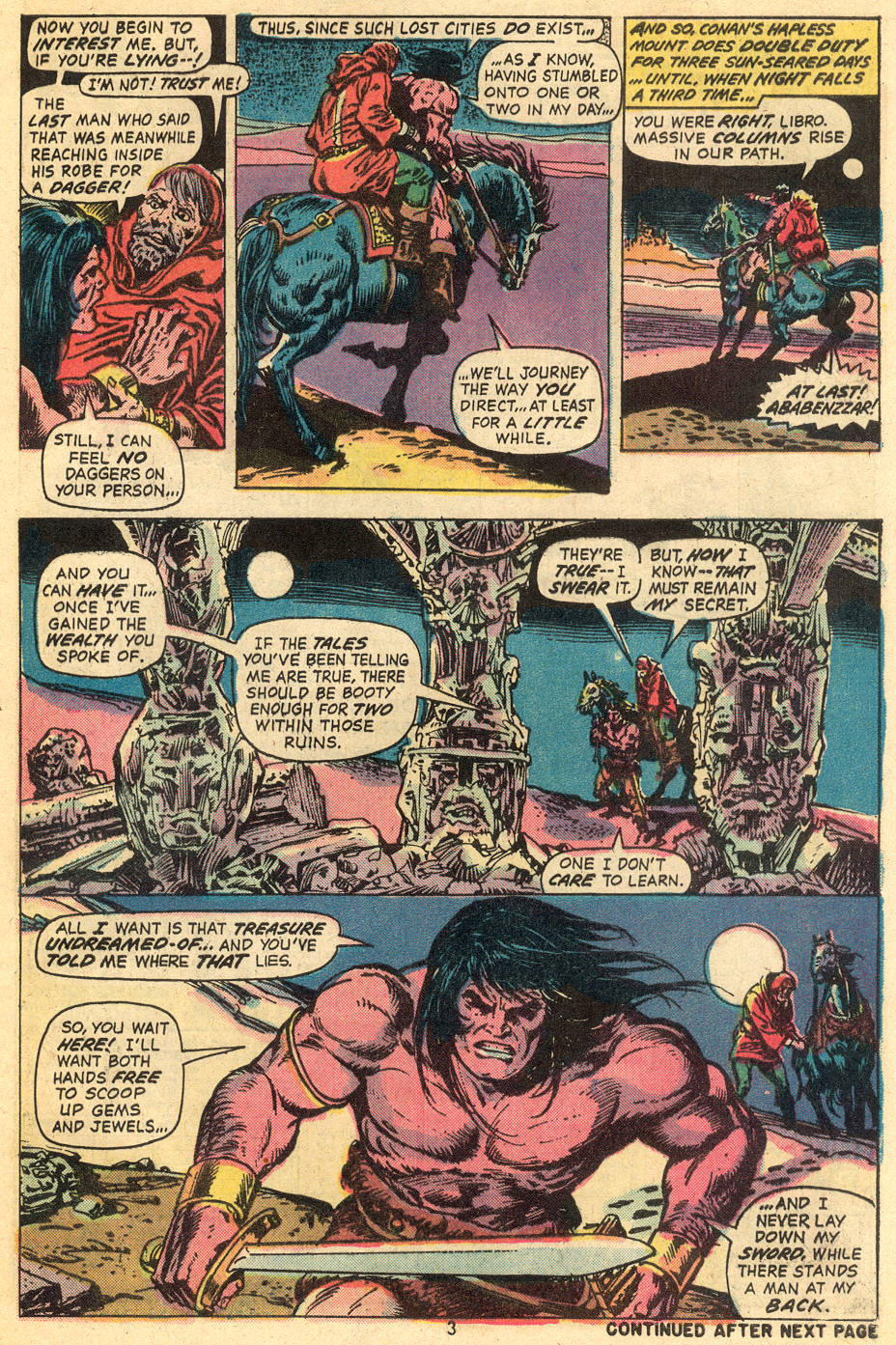 Conan the Barbarian (1970) Issue #40 #52 - English 4