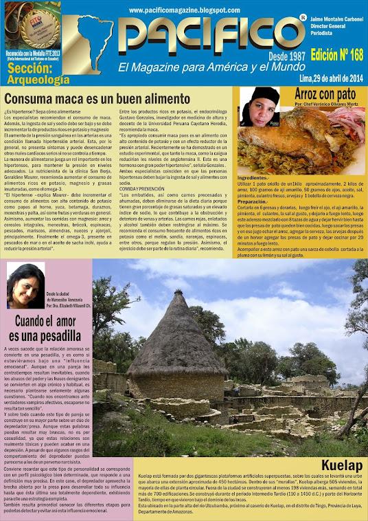 Revista Pacífico Nº 168 Arqueología