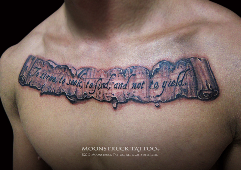 Old World Map Back Tattoo. Old World Map Scroll  Bookmark and Share Posted by MOON on 3 17 2013 Moonstruck Tattoo