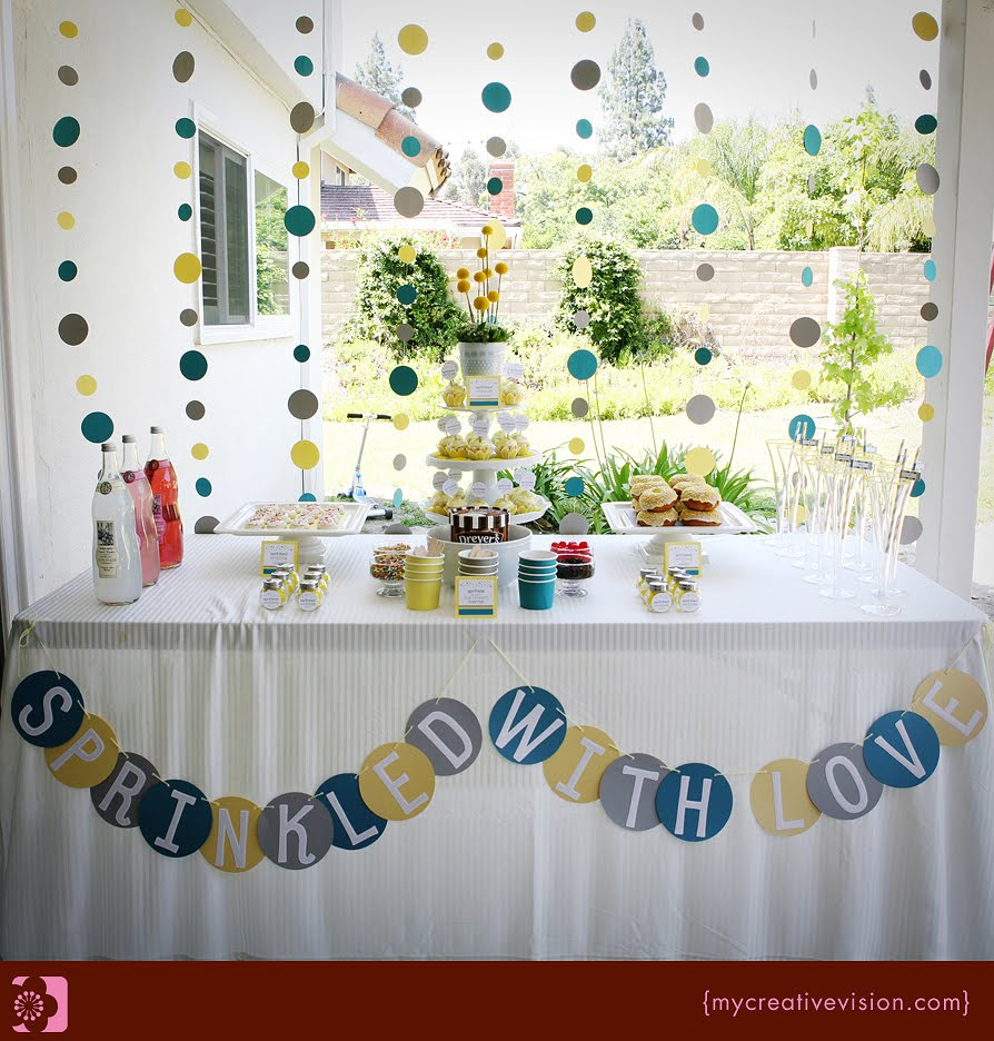 winning party feature goes to this SPRINKLE PARTY {BABY SHOWER ...