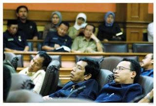 Foto Para Pejabat Saat Mengantuk - lensaglobe.com