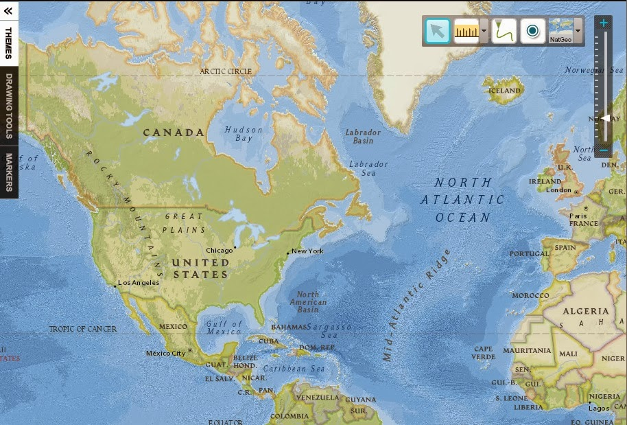 Donnas tech page interactive map maker by national geographic httpeducationtionalgeographiceducationmappinginteractive gumiabroncs Image collections