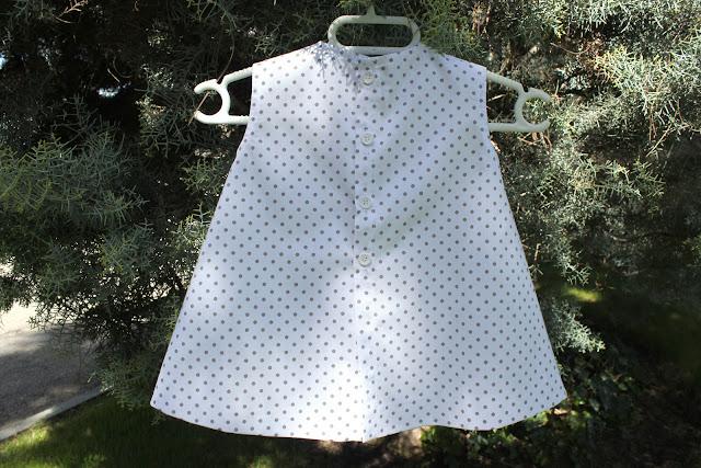 DIY Cómo hacer vestido de bebé niña (tutorial con patrón incluido)